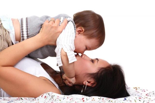 moeder + baby